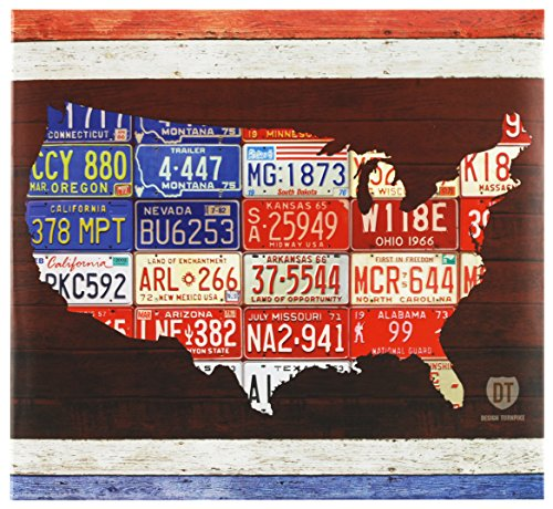 Protectors Page Mbi - MCS MBI 13.5x12.5 Inch Americana Collection Scrapbook Album with 12x12 Inch Pages, American License Plate Theme (860095)