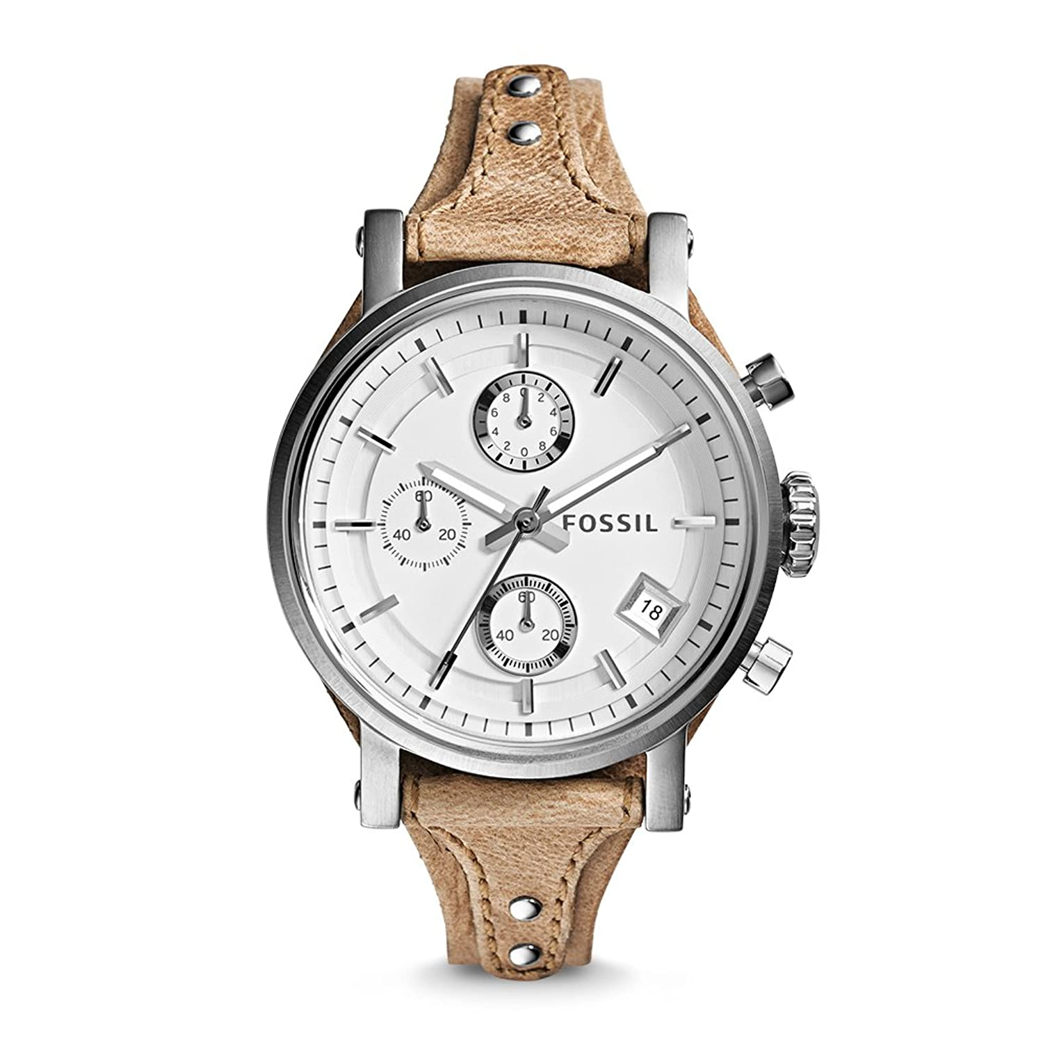 Préférence Amazon.com: Fossil Women's ES3625 Original Boyfriend Chronograph  CS43