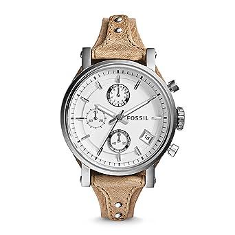 Damenuhren fossil lederarmband  Fossil Damen-Uhren ES3625: Fossil: Amazon.de: Uhren