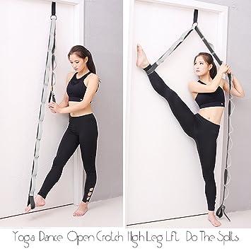 Amazon.com: TopHelper - Correa de yoga, mejor elástica para ...