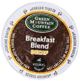 Green Mountain Coffee Decaf Breakfast Blend,  K-Cup Portion Pack for Keurig K-Cup Brewers, 24-Count