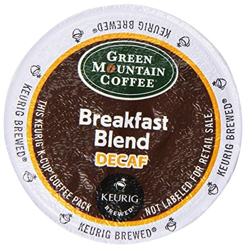 Learn More About Green Mountain Coffee Decaf Breakfast Blend  (Light Roast Coffee), K-Cup Portion Pa...