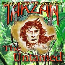 Tarzan the Untamed Audiobook by Edgar Rice Burroughs Narrated by David Stifel