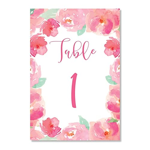 Pink Table Cards Reserved House Designer Today - Restaurant table signs