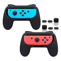 Amazon.com deals on FastSnail Joy-Con Grips for Nintendo Switch