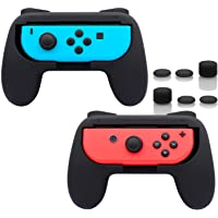 FASTSNAIL Grips Compatible with Nintendo Switch Joy-Con, Wear-Resistant Handle Kit Compatible with Switch Joy Cons…