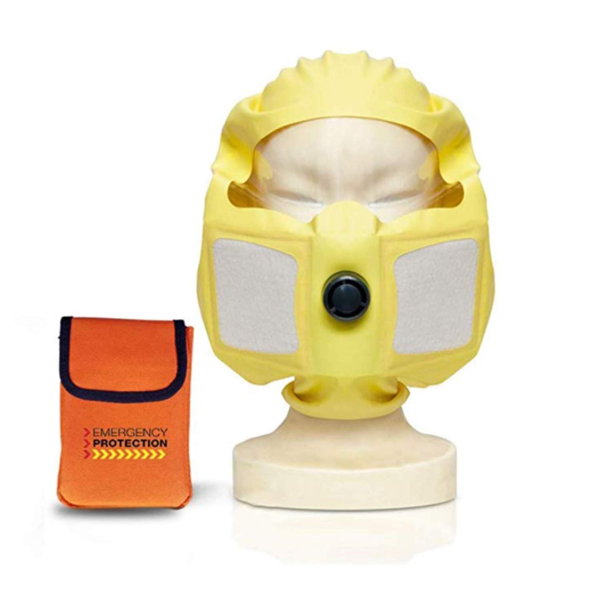 Duram 4NE1 Escape Mask Full Face Respirator Mask Gas Mask Emergency Mask Personal Protection Against Fire Gas Smoke by DURAM MASK (Image #1)