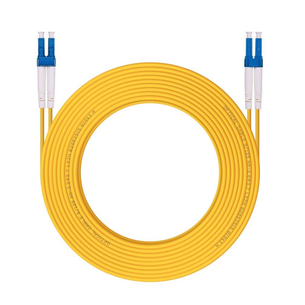 LC to LC Fiber Patch Cable Multimode Duplex OM3 10Gb 50/125um, LSZH, 3-Meter(9.8ft) H!Fiber.com 4330390963