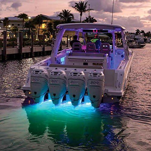 Lumitec Lighting 101510 SeaBlaze Quattro Underwater Light LED Underwater Light Spectrum Full-Color RGBW