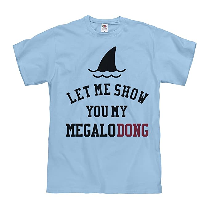 Amazon.com: Flashing The MegaloDONG: Unisex Fruit of The Loom Midweight T-Shirt: Clothing