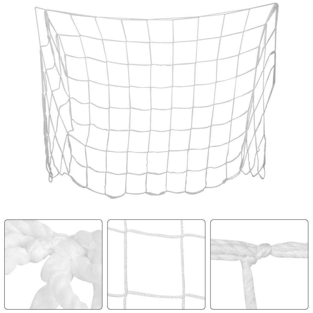 Soccer Goal Net 1.2x0.8m Durable Football Training Net Replacement Sports Match Training Tools