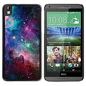 LOVE FOR HTC DESIRE 816 Sky Universe Stars Cosmos Nebula Teal Personalized Design Custom DIY Case Cover