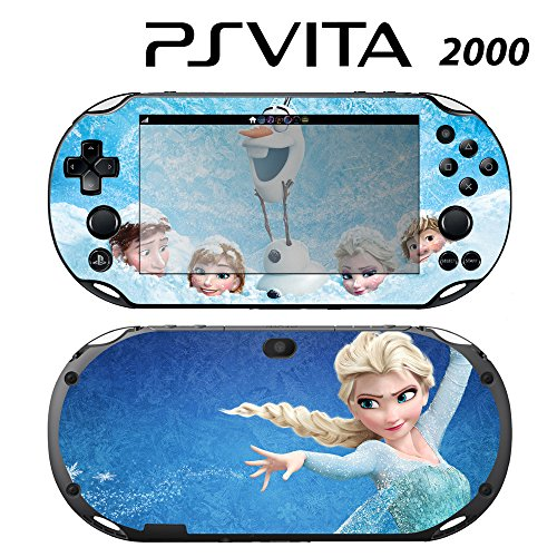 Decorative Video Game Skin Decal Cover Sticker for Sony PlayStation PS Vita Slim (PCH-2000) - Frozen 2 -  Decals Plus, PV2-DI20D