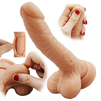 Realistic flash dildo
