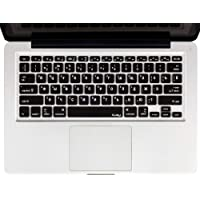 "Kuzy Keyboard Russian Language Silicone Skin For Macbook Pro 13"" 15"" 17"" and Macbook Air 13"" Black"