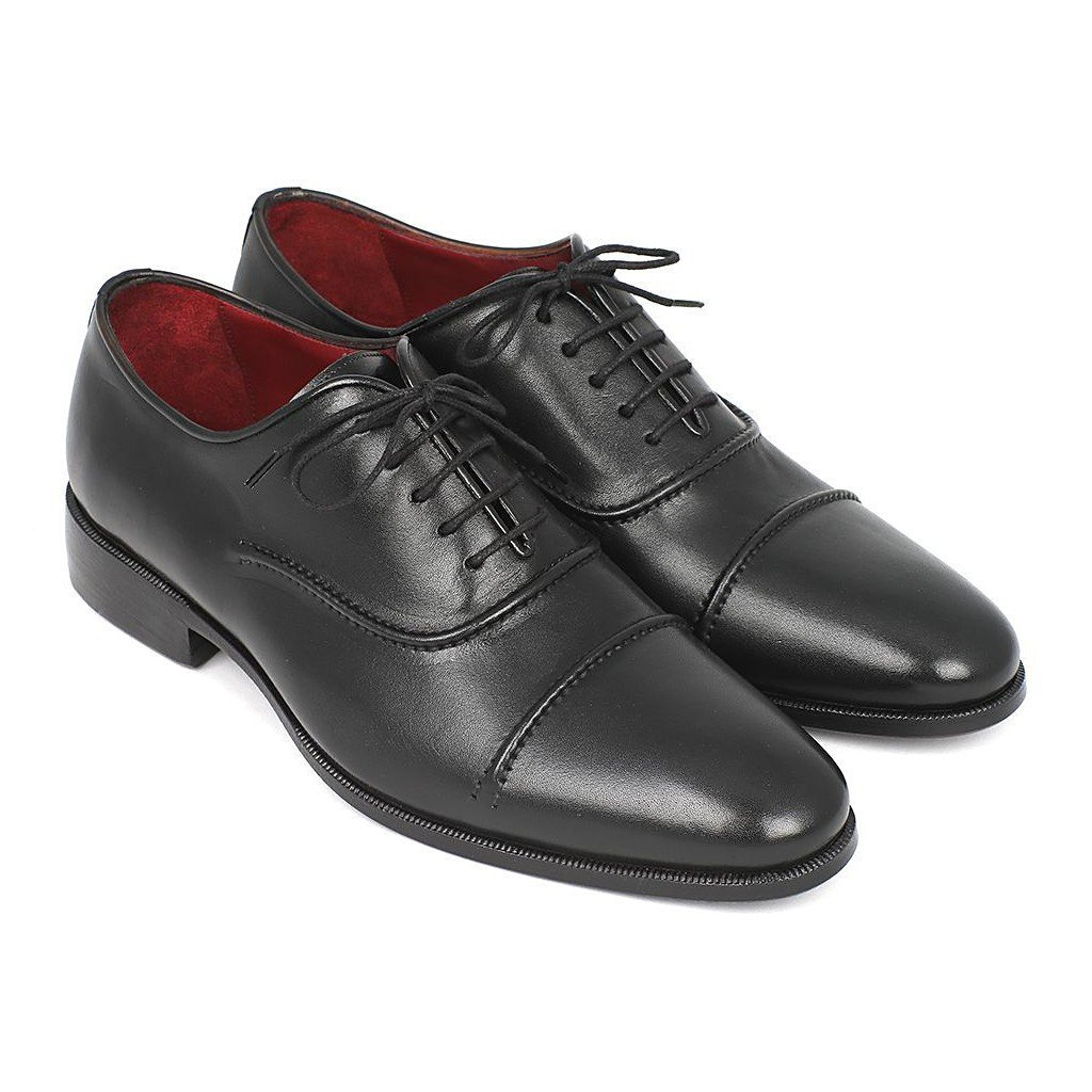 - Paul Parkman Men's Captoe Oxfords Black
