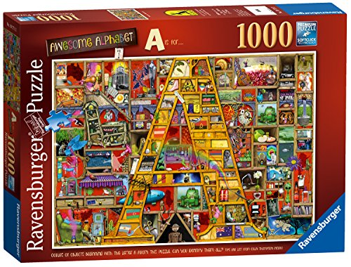 Ravensburger Colin Thompson - Awesome Alphabet a, 1000pc Jigsaw Puzzle