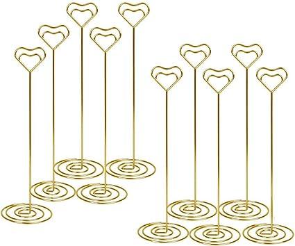 porta foto compleanni segnaposto da tavolo forme de coeur ristoranti clip per matrimoni As Picture Show Supporti per cartoline men/ù