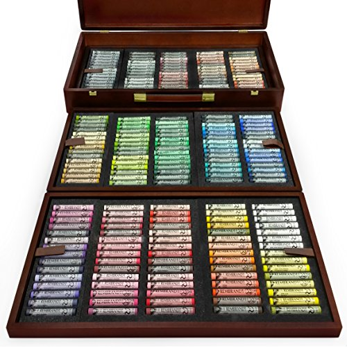 Royal Talens - Rembrandt Soft Pastels Box - 'Excellent' Edition in Wooden Chest - 225 Full Length Colours by Royal Talens