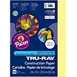 "Tru-Ray Construction Paper, 9"" x 12"", 50 Sheets"
