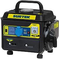 Surtek GG408 Surtek Generador a Gasolina de 120 V, con Cilindrada de 63 CC, Potencia 800 W, Motor con 2 Caballos de Fuerza, Frecuencia 60 Hz, Capacidad de Tanque de Gasolina de 4 l