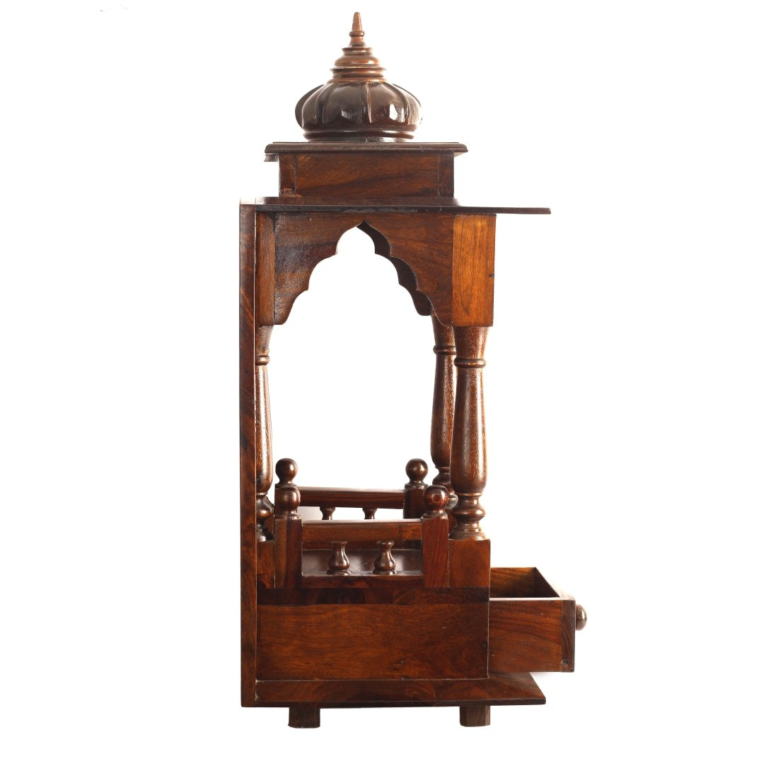 Simple Wooden Temple Designs For Home. Wooden Pooja Mandir Designs ...