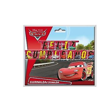 Cars - Guirnalda feliz cumpleaños (Verbetena 014000698)