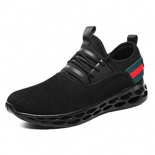 Rotok - Zapatillas para correr en montaña de Material Sintético para hombre negro negro: Amazon.es: Zapatos y complementos