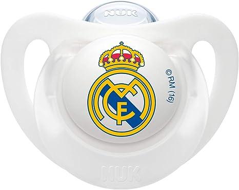 NUK Genius, Chupete del Real Madrid para Bebé Recién Nacido de ...