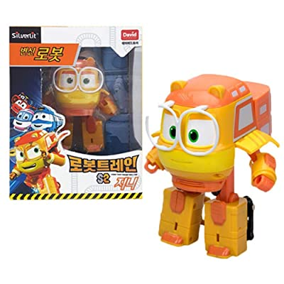"Robot Train Season 2 Korean Animation Transforming Robot 5"" Genie: Toys & Games"
