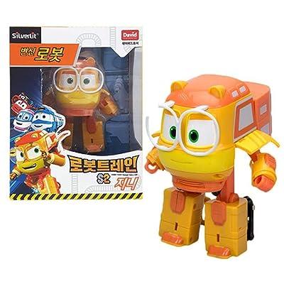 """Robot Train Season 2 Korean Animation Transforming Robot 5\"""" Genie: Toys & Games [5Bkhe1003782]"""