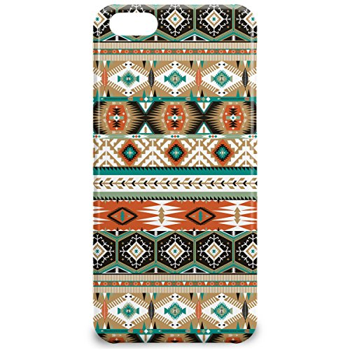 Phone Case For Apple iPhone 5C - Earthy Aztec Tribal Geometric Designer Lightweight