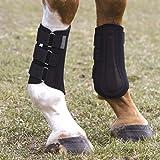 Neoprene Splint Boots-Black-L
