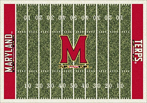 NCAA Home Field Rug - Maryland Terrapins, 3'10'' x 5'4'' by Millilken
