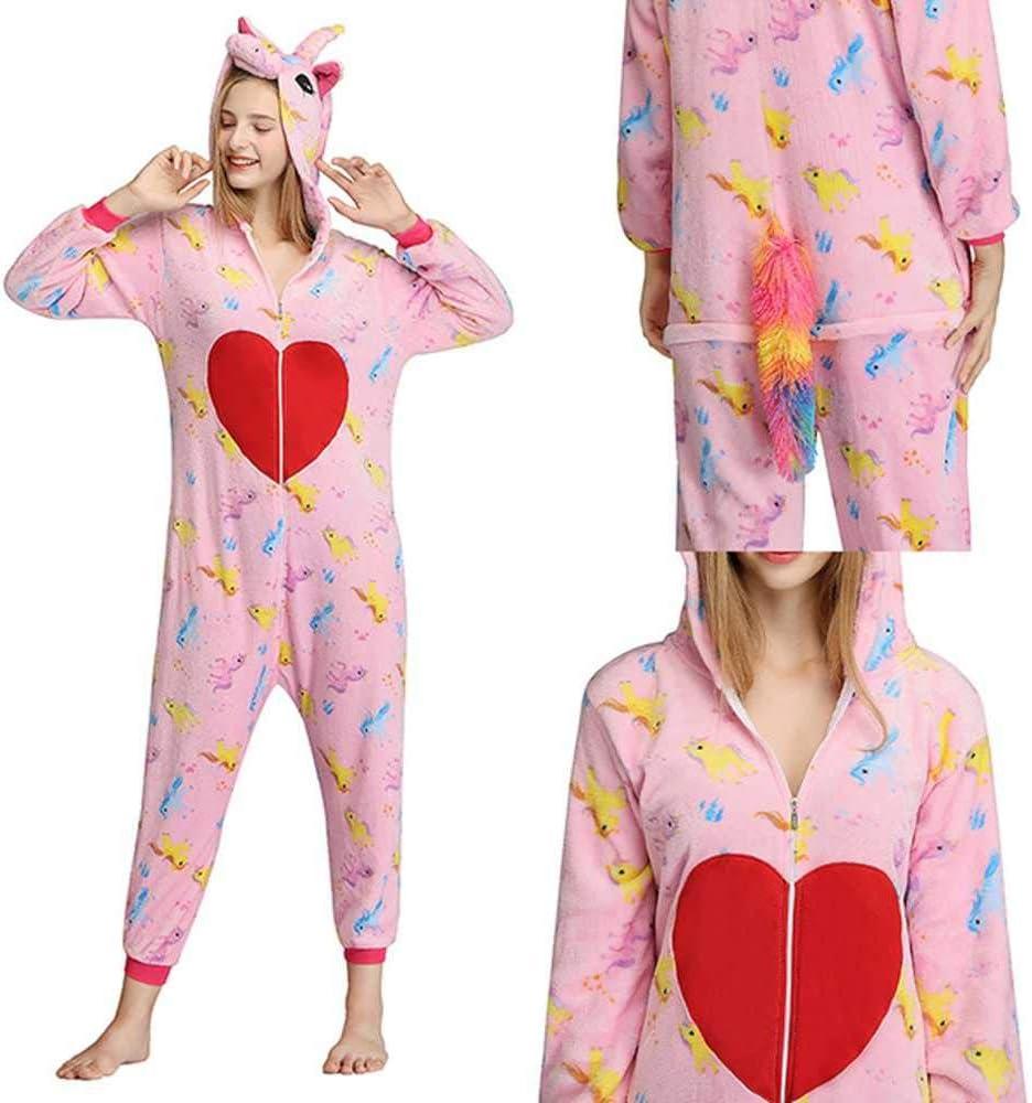 JIAWEIDAMAI Pijama de Unicornio para Mujeres, Hombres ...