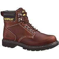 """Caterpillar Men's Second Shift 6"""" Plain Soft Toe Work Boot"""
