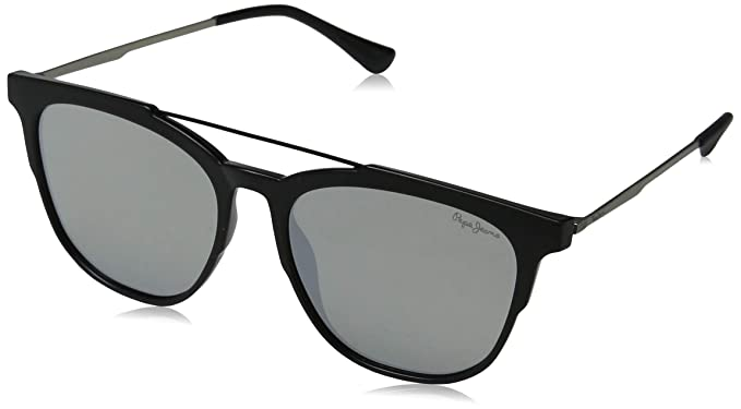 Pepe Jeans Joshua Gafas de Sol, Negro (Black/Grey), 55.0 ...