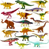 """Boley 18 Pack 4"""" Authentic Dinosaur Set, The Gosnell Model - Educational Dinosaur and Mammoth Action Figure Toy Playset for C"""