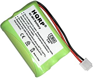 HQRP Phone Battery Compatible with VTech 89-1323-00-00/8913230000 / 891323 / Battery 6822, 6897, DS4121-3, DS4121-4, DS4122-3, i6717, i6725 Cordless Telephone