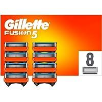 Gillette Fusion 5 Cuchillas de Afeitar Hombre, Paquete de 8 Cuchillas de Recambio (El Diseño Exterior del Paquete Puede…