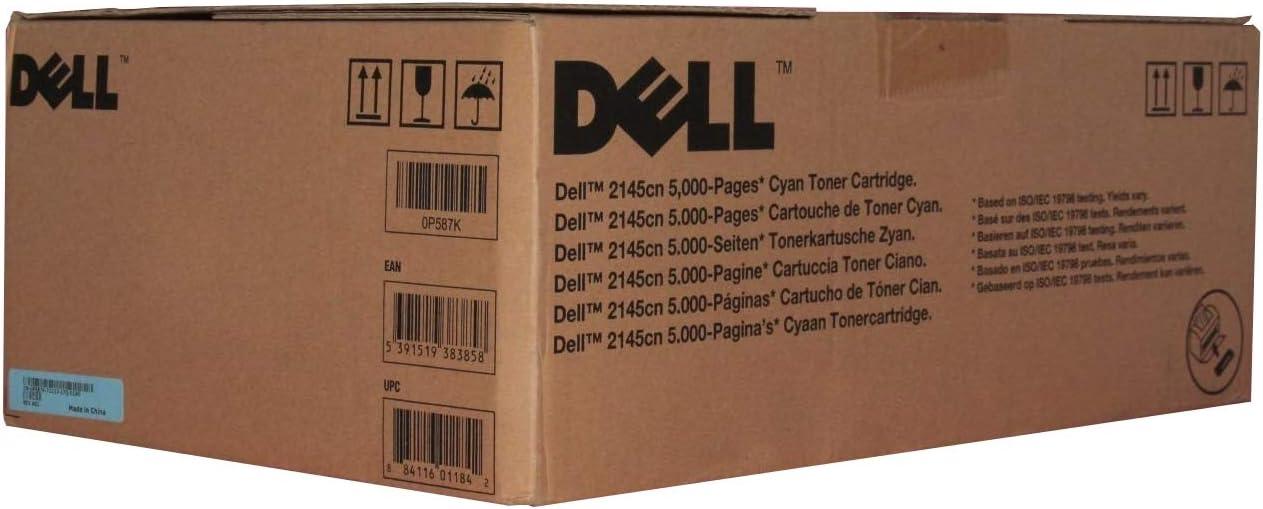 Dell P587K 2145 Toner Cartridge (Cyan) in Retail Packaging