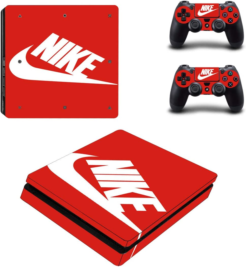 ee0498041aa63 Amazon.com: Adventure Games - PS4 SLIM - Nike Red - Playstation 4 ...