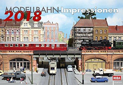 Modellbahn-Impressionen 2018: Kalender 2018