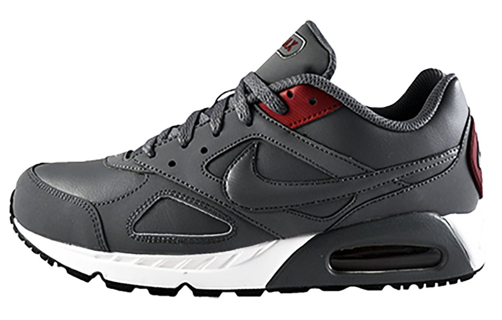 super cute fe108 6b3b4 Galleon - Nike Air Max Ivo LTR Mens Running Trainers 580520 Sneakers Shoes  (UK 9 US 10 EU 44, Cool Grey Team Red 006)