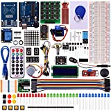 Kuman RFID Master Kit with Motor Servo, LCD, Various Sensors for Arduino IDE AVR MCU Learner Compatible With Arduino UNO R3 Mega 2560 Nano Robot K6