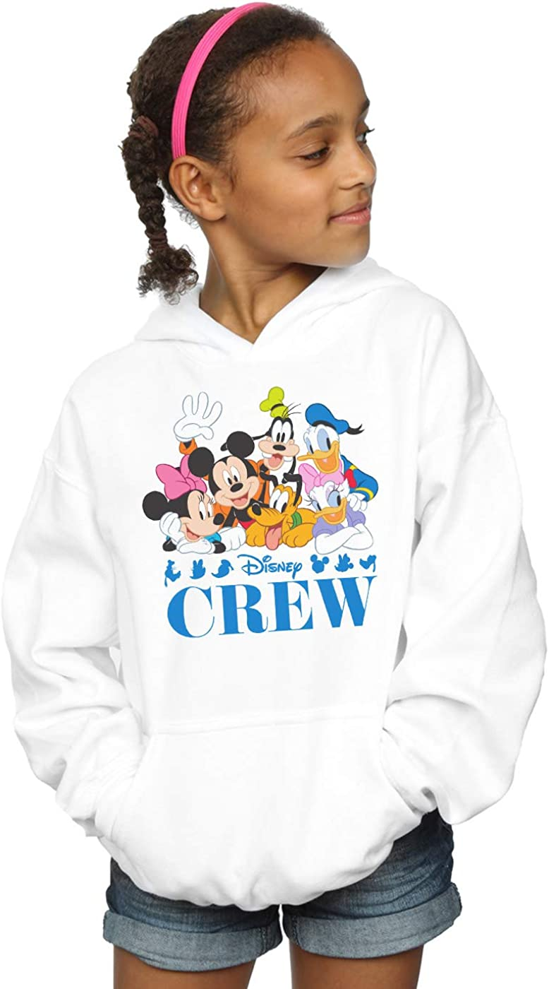 Disney Girls Mickey Mouse Deconstructed Sweatshirt