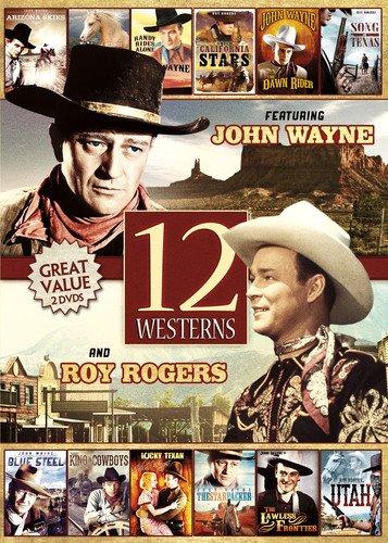 DVD : 12-movie Westerns (Full Frame, 2PC)