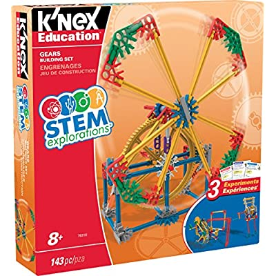 K'NEX Education STEM EXPLORATIONS: Gears Building Set Building Kit: Toys & Games