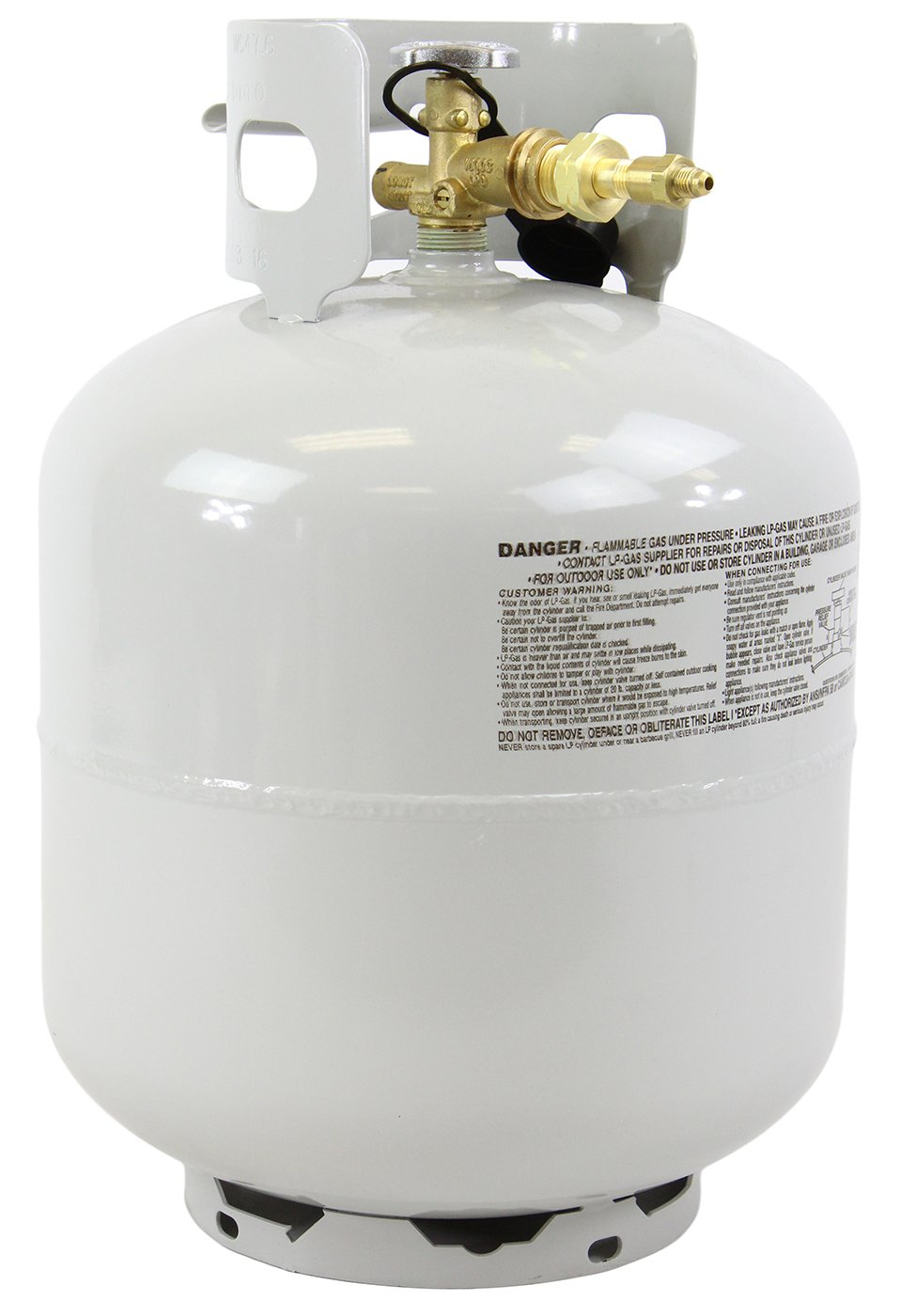 Best Value Vacs High Purity USA N-Butane Tank- Lot Analysis 99.83% - 99.5% Guaranteed, 20 lbs Solvent by BEST VALUE VACS (Image #1)