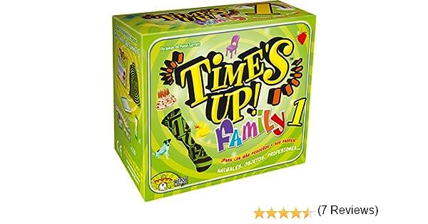 Asmodee - Times Up! Family 1, Juego de Mesa (Repos TUF01ES): Amazon.es: Juguetes y juegos